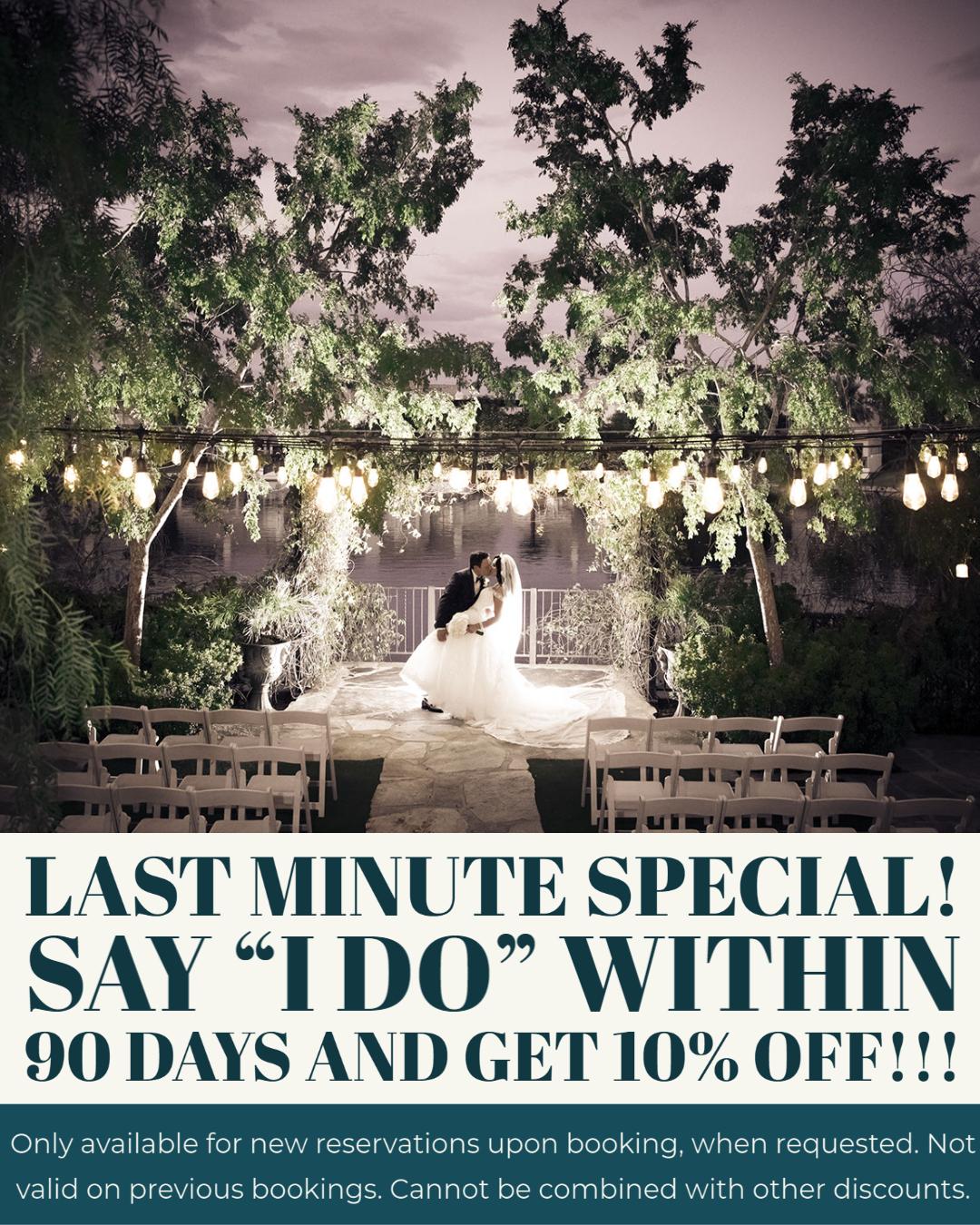 Last Minute Special Say I Do Las Vegas Wedding 4 U